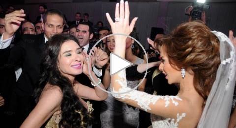 هيفاء وهبي ودينا تحييان حفل زفاف ابنة الاعلامي عادل حمودة
