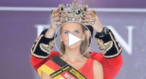 تتويج الشابة أولغا هوفمان ملكة جمال ألمانيا للعام 2015