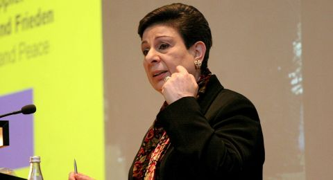 عشراوي: المرأة الفلسطينية شريك أساسي في بناء الدولة