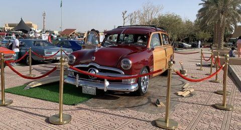 انطلاق مهرجان السيارات الكلاسيكية في السعودية