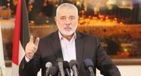 هنية: لم نفاجأ بنتائج الانتخابات الإسرائيلية ولا فروق بينهم