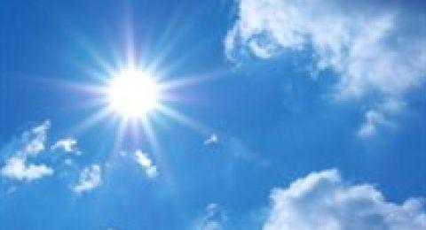 حالة الطقس: ارتفاع على درجات الحرارة وامطار وعواصف رعدية الجمعة