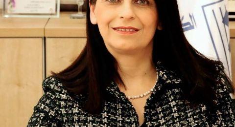 مجلس التعليم العالي يمنح مديرة الكلية د. رندة خير عباس لقب بروفيسور