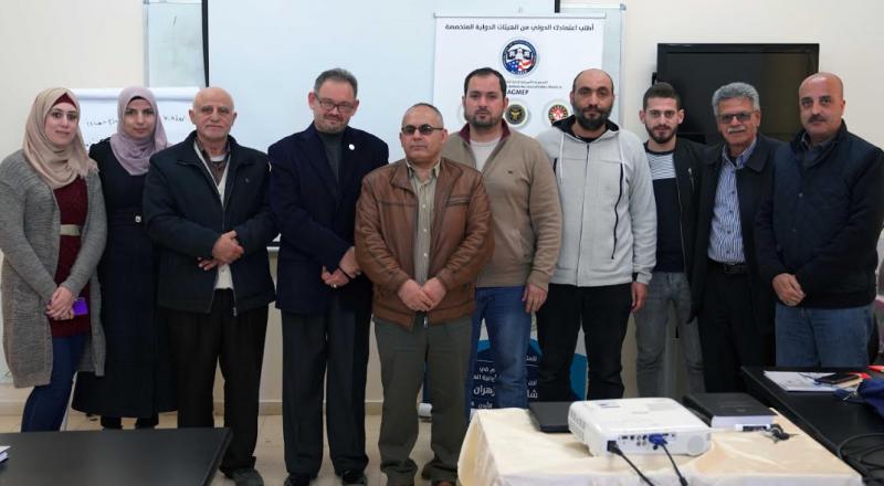 الجامعة العربية الأمريكية تخرج دورة التحكيم والعقود بنسختها الثانية