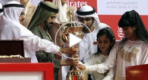 الامارات تستضيف بطولة كأس دبي العالمي للخيل
