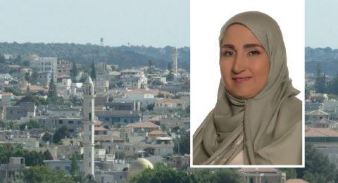 المربية فكتوريا زحالقة مدلج تعلن ترشيحها لرئاسة مجلس محلي كفرقرع