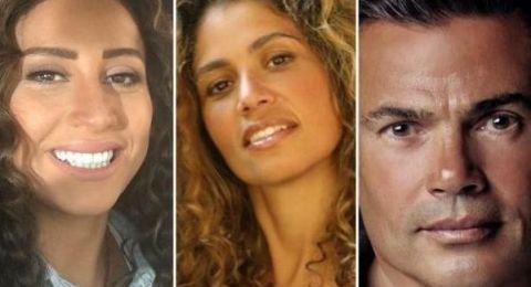 زوجة عمرو دياب تخرج عن طورها: اتصلت بدينا الشربيني وتشاجرت معها!