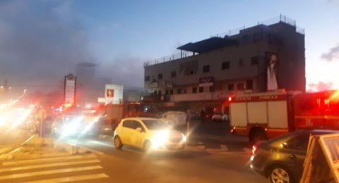 حريق هائل في كفر ياسيف
