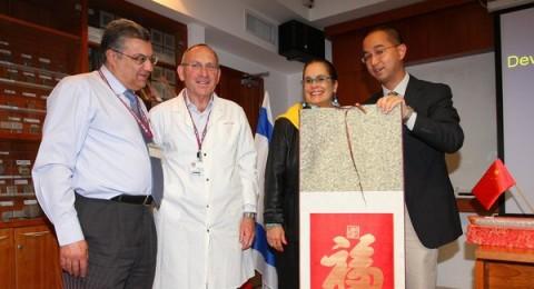 في رمبام: د. بولس يستعرض أحدث التكنولوجيا الطبية أمام بعثة صينية