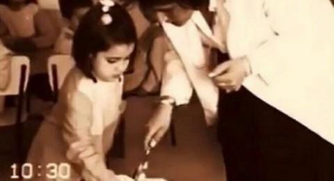 خمنّوا هذه الطفلة مع والدتها أي نجمة عربية أصبحت؟!