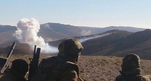 الجيش اللبناني يقصف مقراً قيادياً للمجموعات المسلحة في عرسال