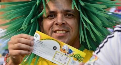 مونديال 2014: سرقة 700 تذكرة لحضور مباريات مونديال البرازيل