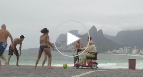 مودنديال 2014: المعجزات تتحقق مع الكرة البرازيلية، فيديو رهيب!