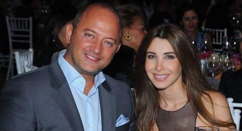لقطة رومانسية لنانسي عجرم وزوجها تشعل المواقع