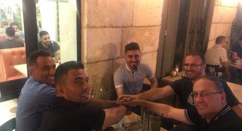 هـ.ابناء مصمص يتعاقد مع امين محاجنة