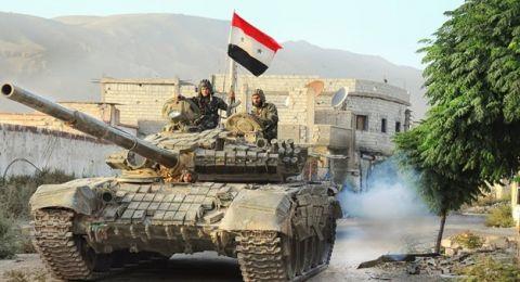 الجيش السوري يقترب من  معبر نصيب الحدودي مع الأردن