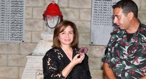 إلهام شاهين مُصابة باكتئاب وحزن بعد زيارتها بيروت: