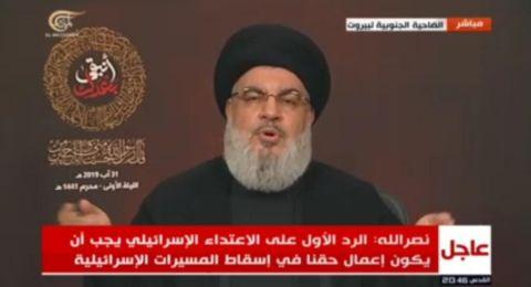 نصر الله يكشف معلومات مثيرة عن العملية التي شنها حزب الله أمس على موقع إسرائيلي