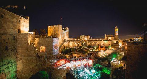 القدس : انطلاق المهرجان الفني