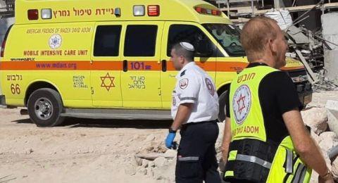 إصابة عامل في جلجولية وآخر في حريش