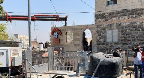 الاحتلال يهدم منزلا في القدس بحجة عدم الترخيص
