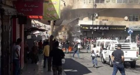الأردن: أعمال شغب واسعة في مدينة الكرك احتجاجا على نقل مجمع الحافلات