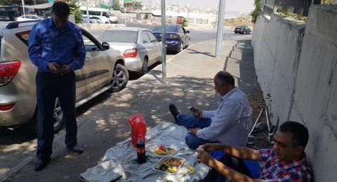 لليوم الثامن على التوالي يتواصل ابعاد الناشط المقدسي أبو الحمص عن العيساوية