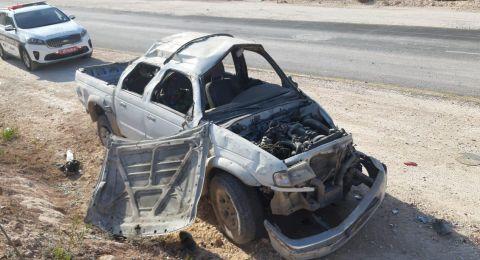 يافة الناصرة: اصابتان خطرتان في حادث طرق