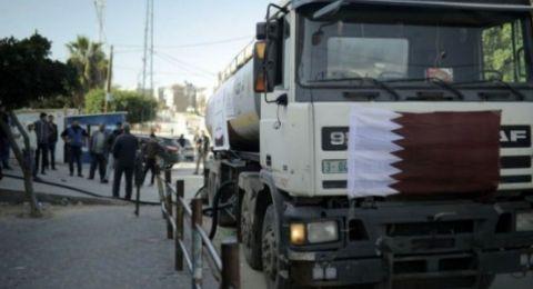 استئناف ضخ الوقود إلى قطاع غزة