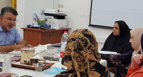 ام الفحم: النائب يوسف جبارين يجتمع مع عضوات