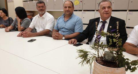رئيس بلدية الناصرة علي سلام وادارته يتفقدون مدارس الناصرة