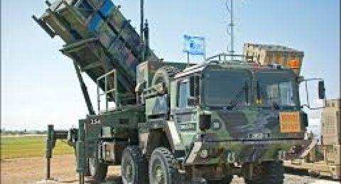 إسرائيل تنشر صواريخ