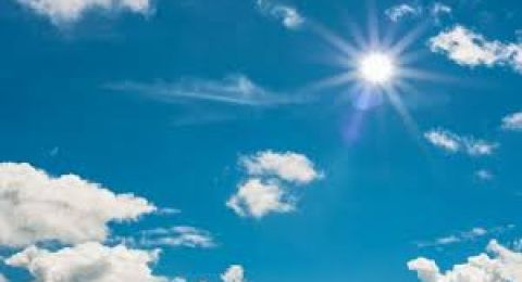 حالة الطقس: اانخفاض على درجات الحرارة وتوقع سقوط امطار