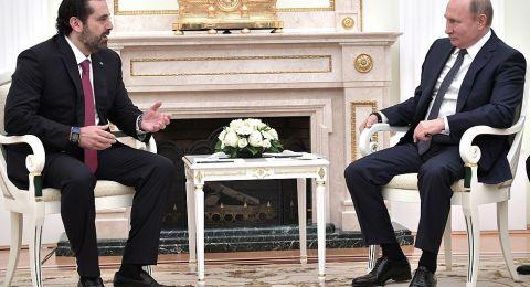 الحريري يطلب تدخلا دوليا لوقف التصعيد مع إسرائيل