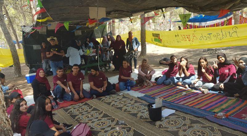 450 متطوّع عربي من كل أنحاء البلاد يشاركون في مخيّم افتتاح السنة التطوعية الجديدة