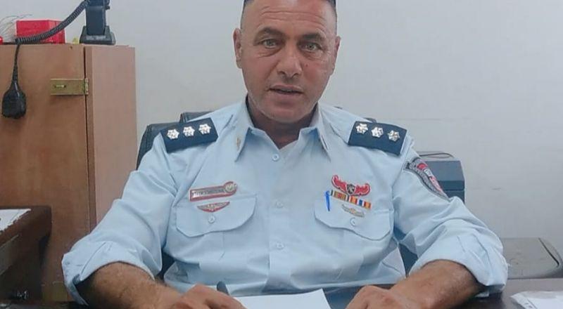 عربي رئيسًا لقسم التحقيقات في لواء الجنوب بسلطة الاطفاء والانقاذ