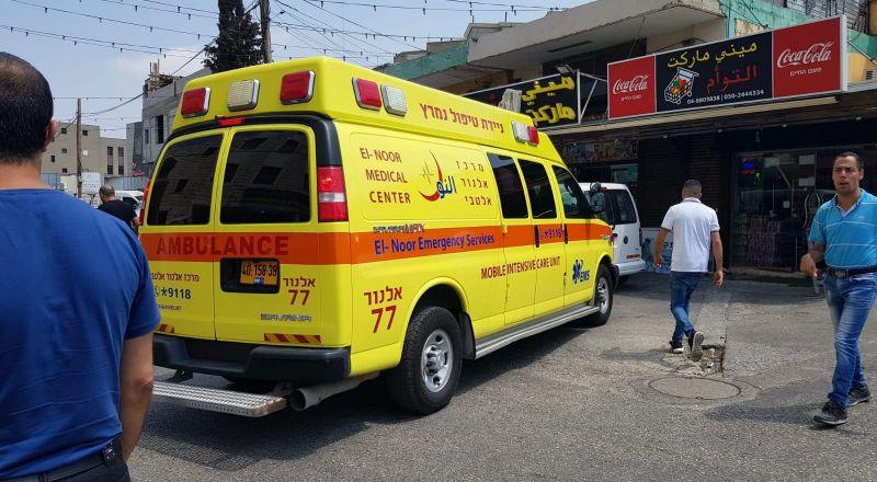 طلعة عارة: اصابة شاب في حادث اطلاق نار