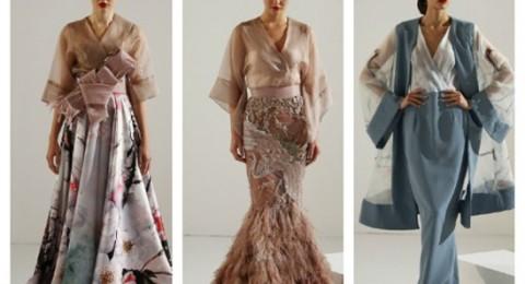 مصمم أزياء لبناني يستوحي مجموعته من اليابان