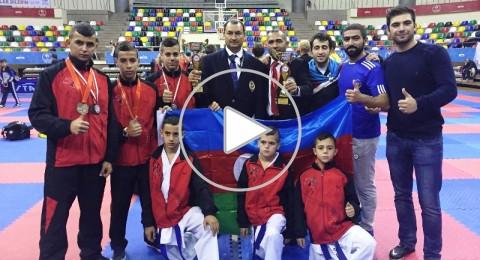انجاز مشرف لمنتخب رابطة الكراتية ببطولة اوروبا بحصوله على ثمان ميداليات