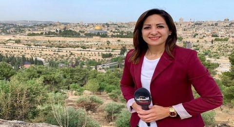 استدعاء مراسلة تلفزيون فلسطين كريستين ريناوي للتحقيق