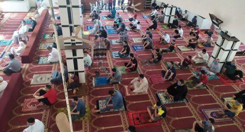 غزة: اغلاق 3 مساجد لإصابة بعض روادها بكورونا