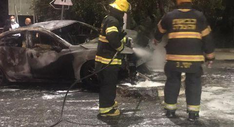 حيفا: حادث طرق مروّع ومصرع عربيّ بعد احتراق مركبته