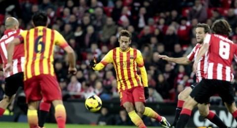 برشلونة يتعرض للهزيمة الثانية على التوالي امام اتلتيك بلباو