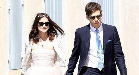 كيرا نايتلي ترتدي فستان زفافها للمرة الثالثة.. بالصور