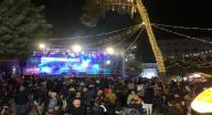 الناصرة:  اضاءة شجرة الميلاد