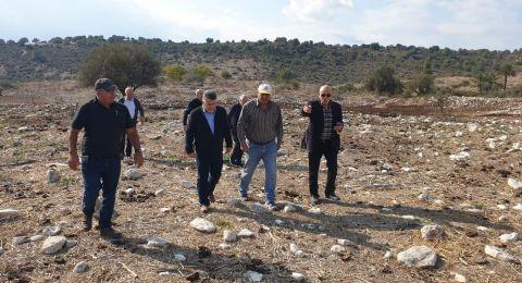 مجهولون يعتدون على مقبرة قرية صبّارين