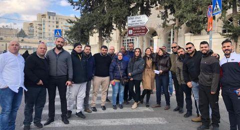 القدس : الافراج عن طاقم تلفزيون فلسطين بعد تحقيق عدة ساعات