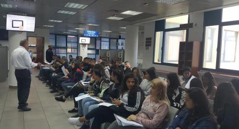نجاح كبير لمشروع إصدار الهوية البيومترية لطلاب العاشر بمدرسة أورط على أسم حلمي الشافعي عكا
