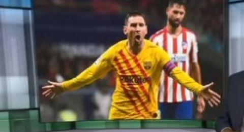 ميسي يصنع رقما جديدا أمام أتلتيكو مدريد