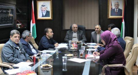 اتحاد لمسعفين العرب ودعم اللجنة الشعبية في مخيم شعفاط